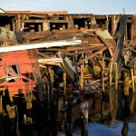 Gloucester Waterfront - Collapsed Warehouse 2