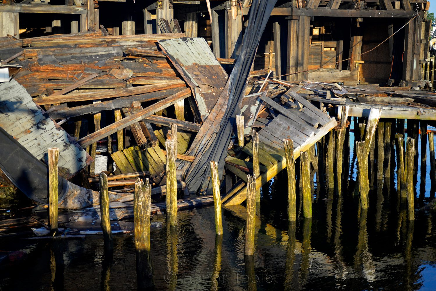 Gloucester Waterfront - Collapsed Warehouse 4