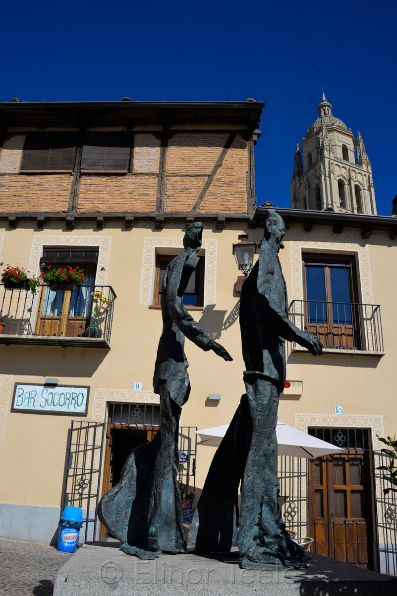 Agapito Marazuela, Segovia