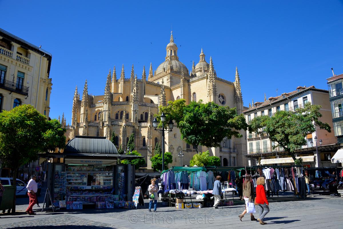 Exterior, Catedral de Segovia, Segovia