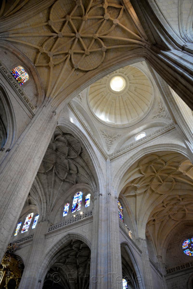 Ceiling, Catedral de Segovia