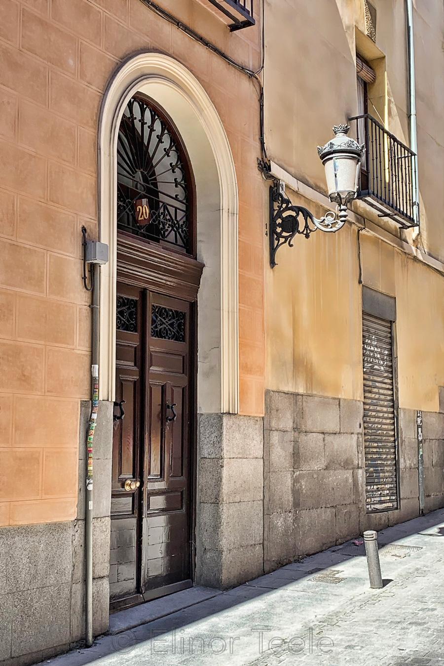 Door & Lamppost, Madrid