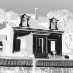 Hopper House - Study in Black & White