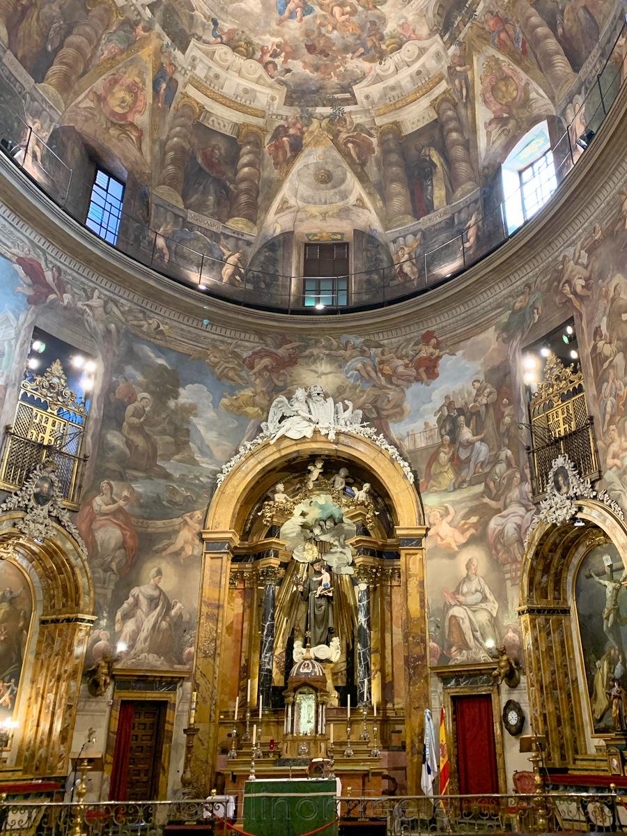Iglesia de San Antonio de los Alemanes - Interior
