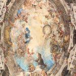 Iglesia de San Antonio de los Alemanes - Ceiling Close-Up