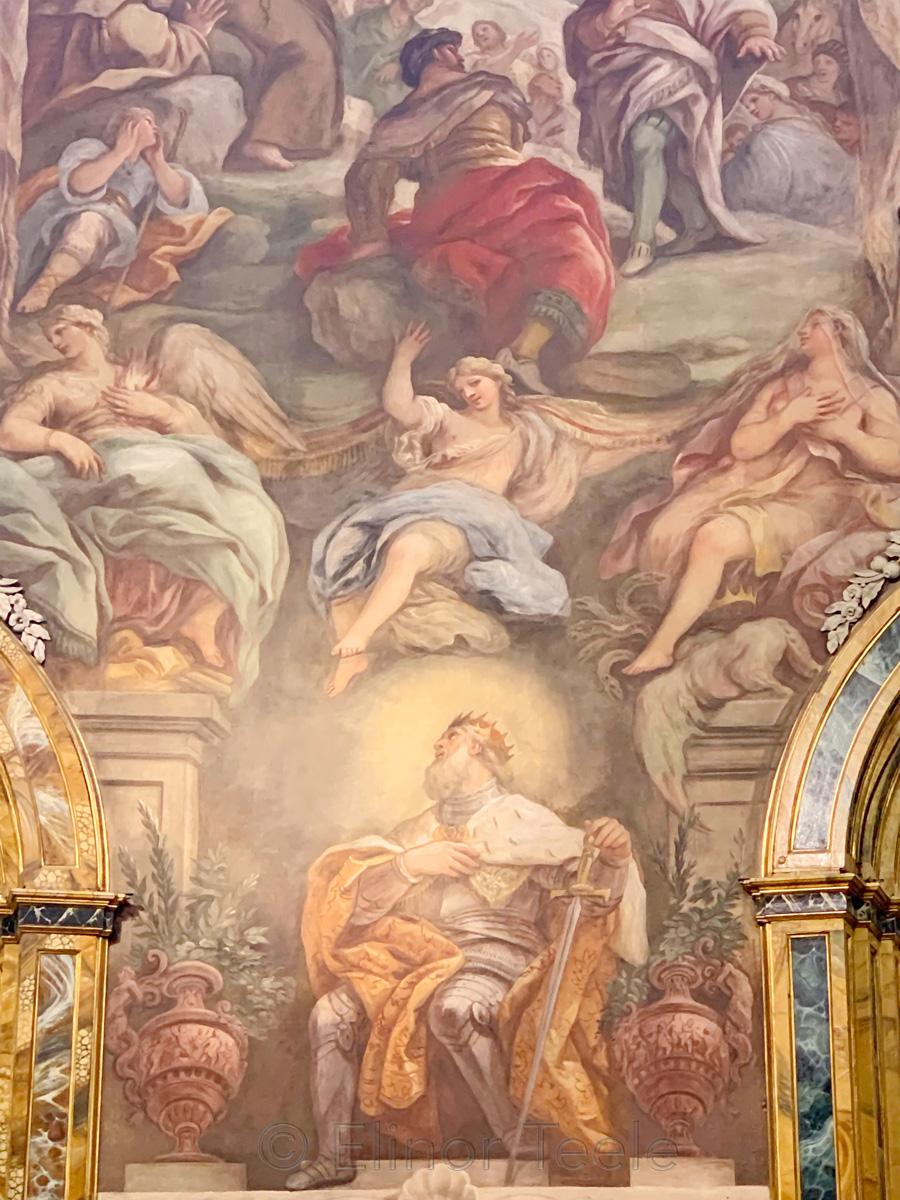 Iglesia San Antonio Los Alemanes - Wall