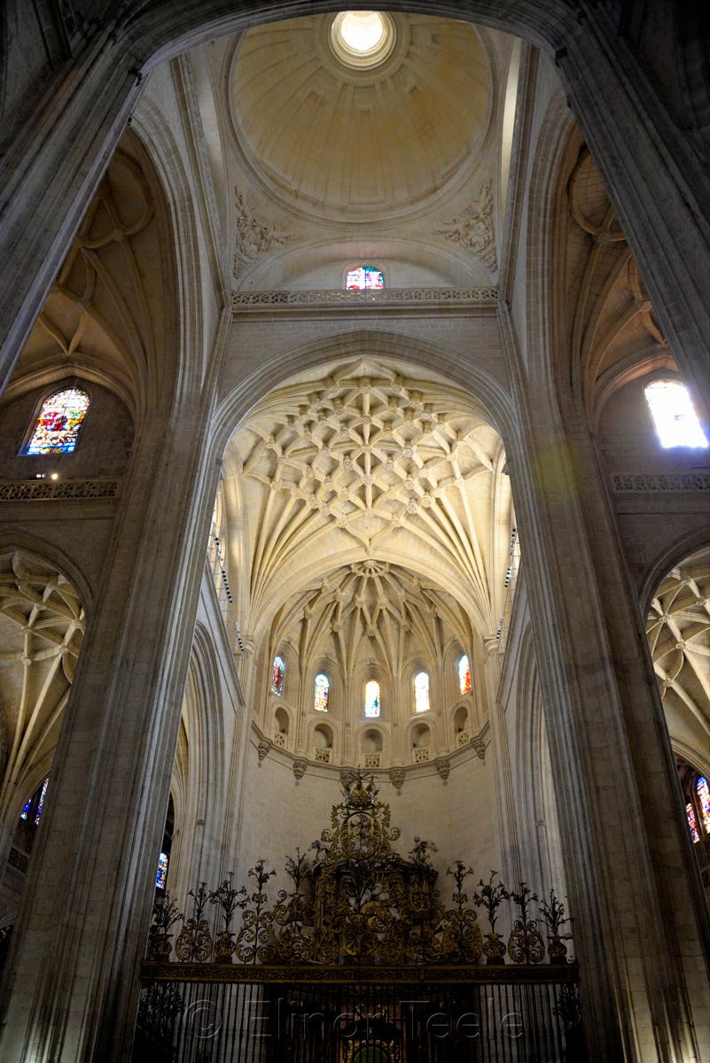 Interior, Catedral de Segovia, Segovia