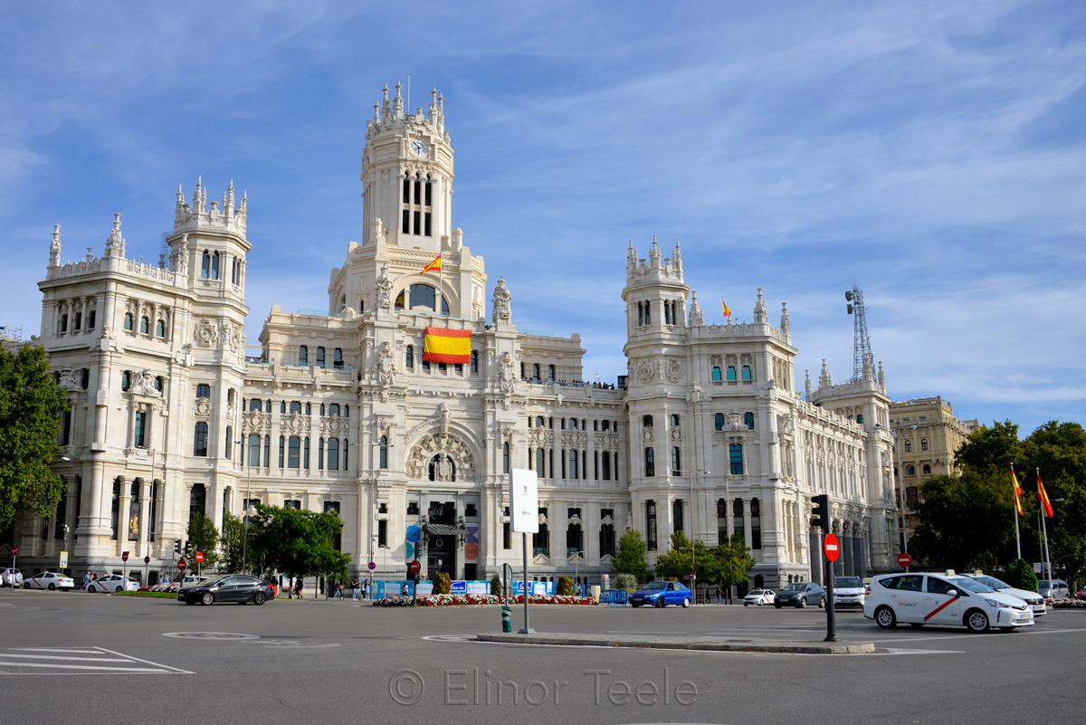 Palacio De Cibeles Cibeles Palace Madrid 1