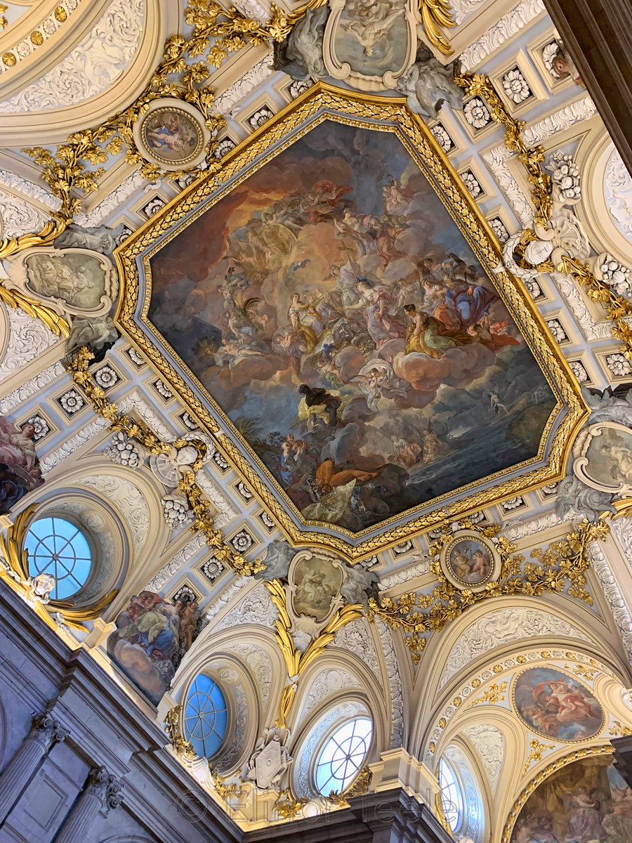 Palacio Real | Royal Palace - Grand Staircase Ceiling, Madrid
