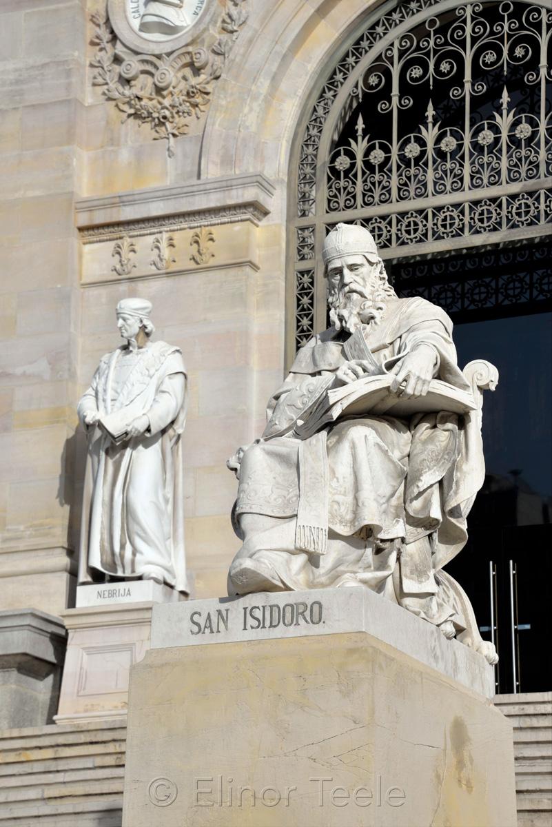 San Isidoro, Biblioteca Nacional de España | National Library of Spain, Madrid