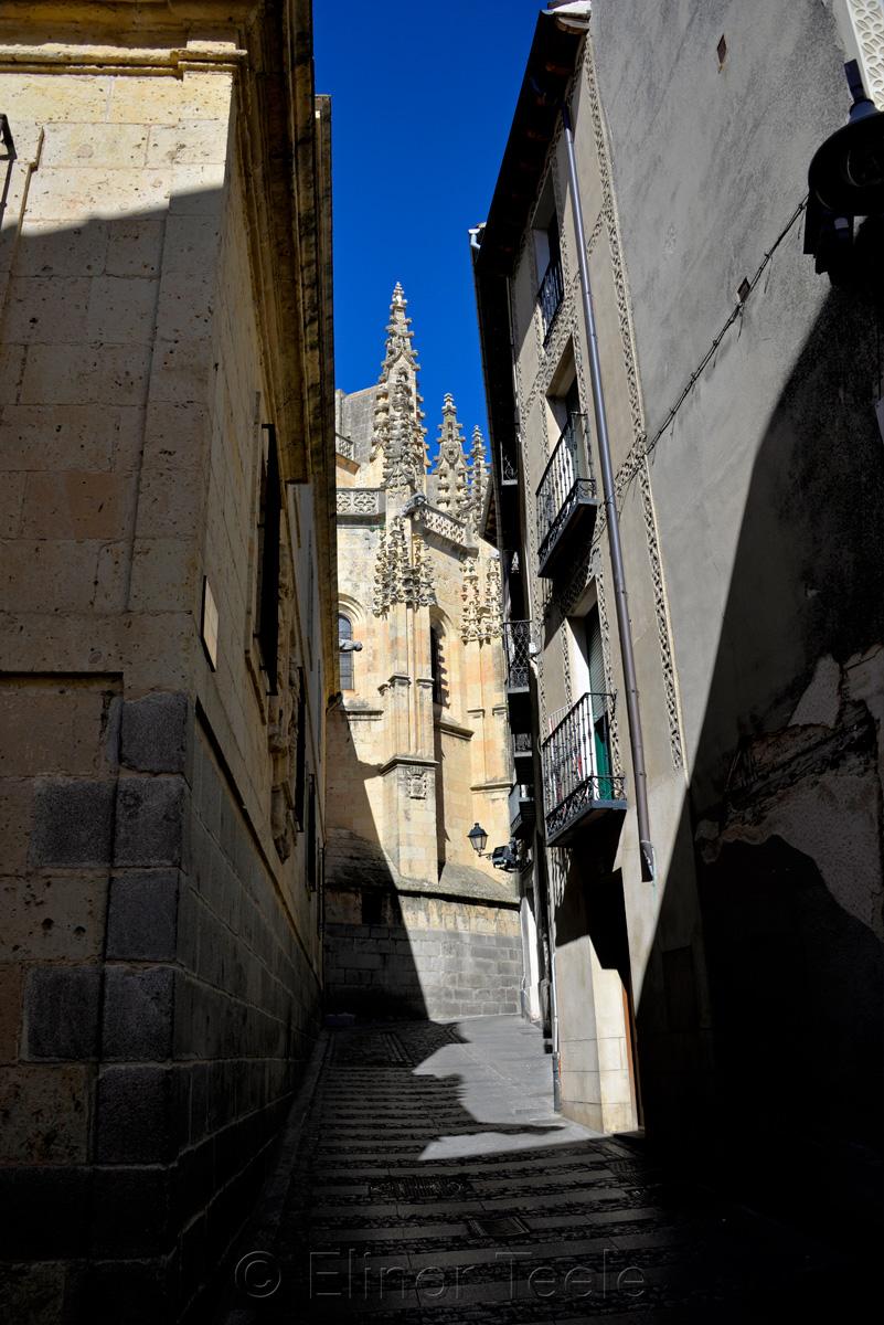 Catedral de Segovia & Alley, Segovia
