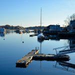 Annisquam Harbor - November in Blue 1