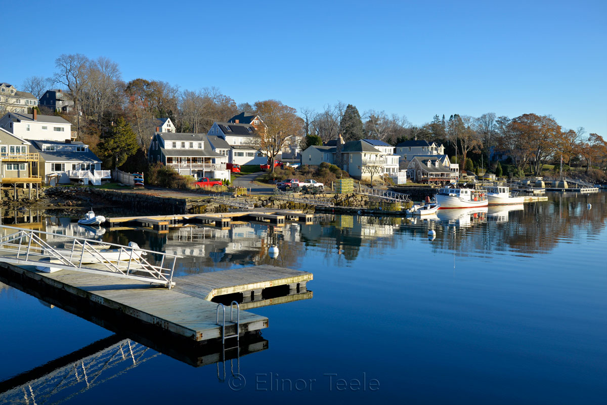 Annisquam Harbor - November in Blue 2