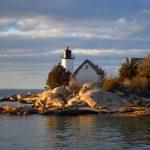 Lighthouse in Winter Light 1