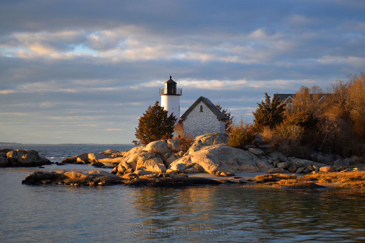 Lighthouse in Winter Light 1