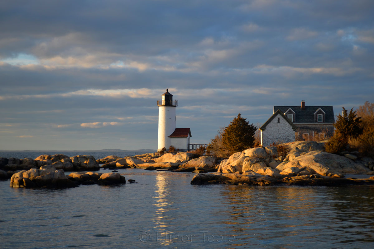 Lighthouse in Winter Light 2