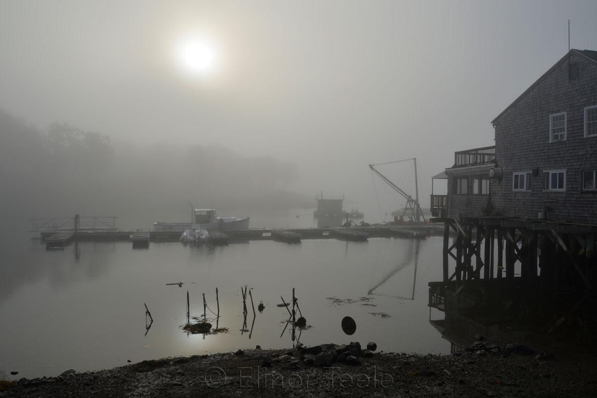 Annisquam Market - November Fog 1