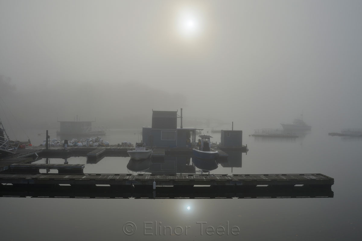 Annisquam Market - November Fog 2