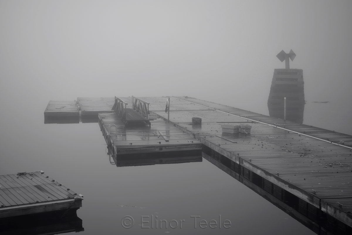 AYC Docks - November Fog 1