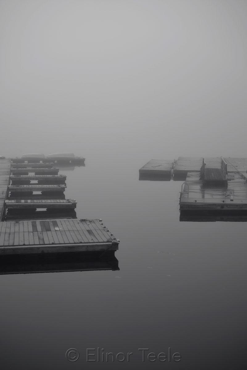 AYC Docks - November Fog 2