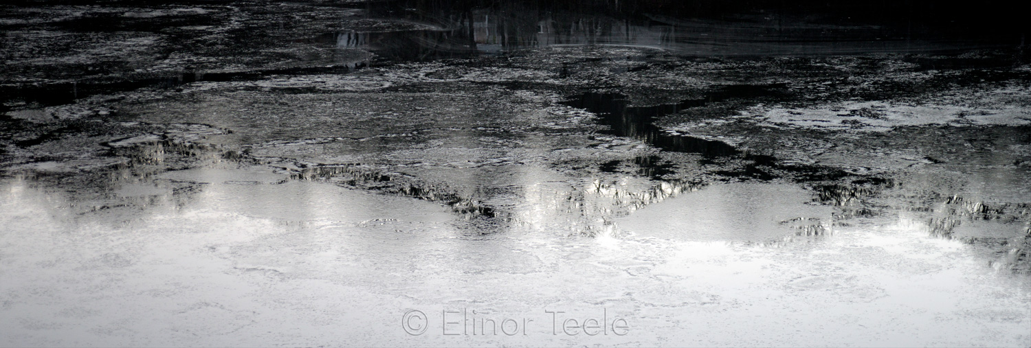 February Ice Reflections 1