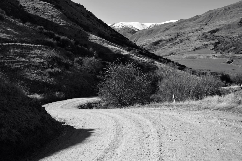 Glencoe Road in Black & White - August 1