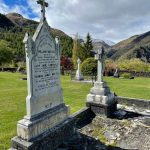 Arrowtown Cemetery in October 1