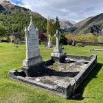 Arrowtown Cemetery in October 2