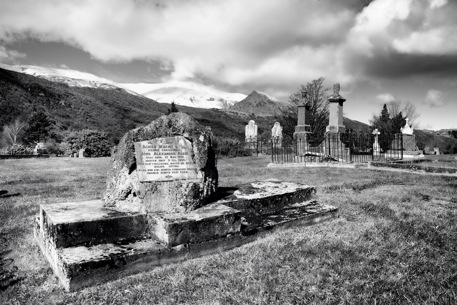 Arrowtown Cemetery in October 3